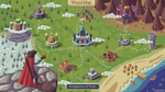 RPG map mockup - Choose location by kirokaze