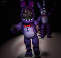 Withered Bonnie by Capt4inTeen79