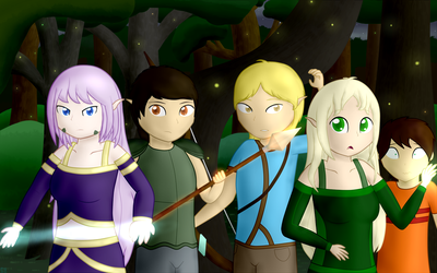 The Main Five of Nashronth by Sutekh94
