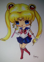 Sailor Moon by antiquesohl
