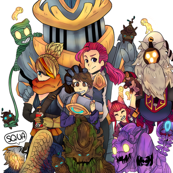All the champs I play II by NekoScarlet