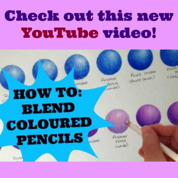 How to blend coloured pencils by KirstyPartridgeART