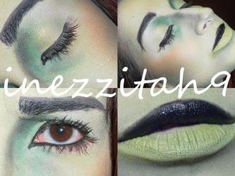 Shego Makeup Inspired by inezzitah
