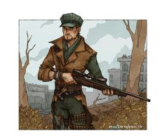 Robert Joseph MacCready by morteraphan