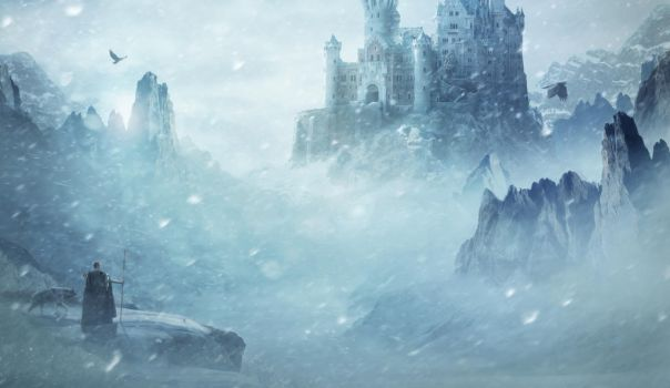 King Of A Frozen World by BenjaminHaley