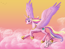 Flying Princess by VGiselleH