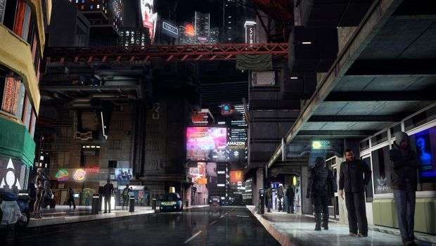 Subarashi Comercial District by T3ss3R