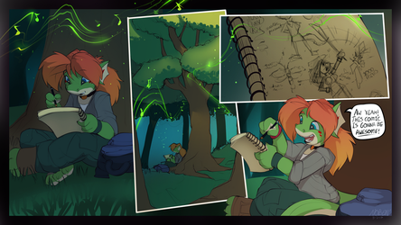 Page 3 - A comic book is born. by Noben