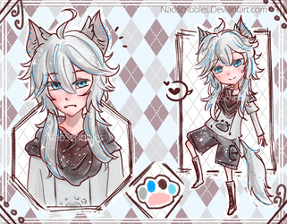  CLOSED Auction Adopt 'Pet Husky' (AB added) by Nommyo