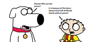Brian and Stewie talks about blizzard by MarcosPower1996