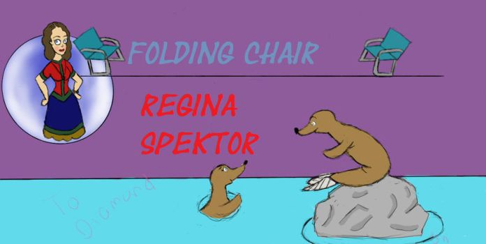 Regina Spektor-Folding Chair Art work by Thinktink606432