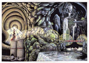 The Cave of the Winding Path
