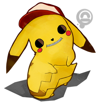 pikachu by corrupted-azero