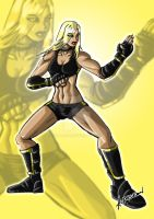 Black Canary Concept by ADL-art