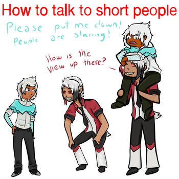 How to Talk to Short People by Boo-gyph