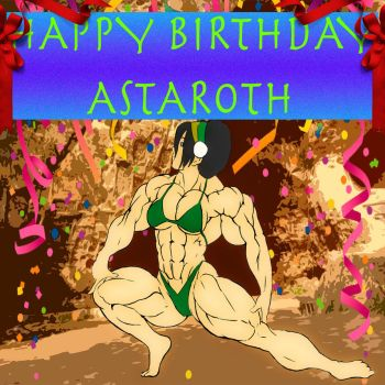 Toph Beifong - Happy Birthday Astaroth! by LauriceDeauxnim