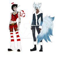 Winter Male Adopts (Closed) by ChaoticallyKhaos