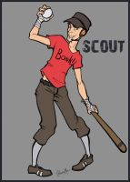 TF2 Scout by Liabra