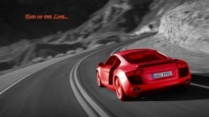 Red Audi HD Wallpaper by MrLoLLiPoP93