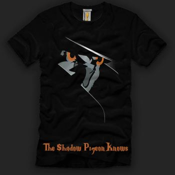 The Shadow Pigeon Knows by ressamac