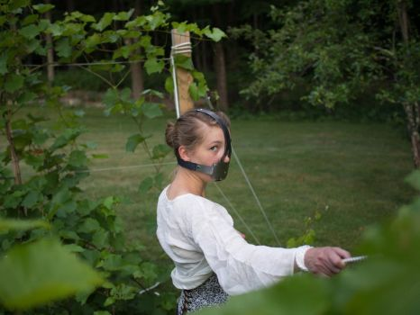Tied and Gagged in the Vineyard 3 by kinkykusco