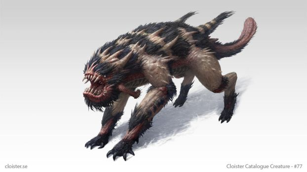 Wohrgnaal - creature design by Cloister
