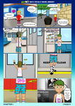 Ben 10 - Ben's Totally Bogus Journey Comic CH1 P6 by R101D