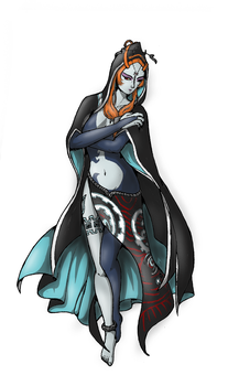 True Form Midna by Shearah