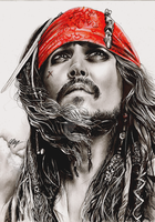 Captain Jack Sparrow. by FreedomforGoku