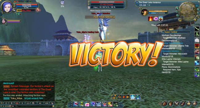 Victory against Amplified by YokuMiya