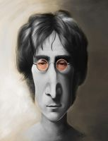 John Lennon - Caricature by luebbi1981