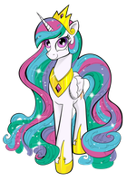Glorious Celestia by Brunursus