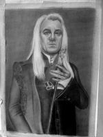 Lucius Malfoy mostley ready by SabineK