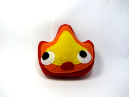 Calcifer Plush by Ginger-Storm