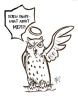 Pissed Off Hedwig by Ashwin24