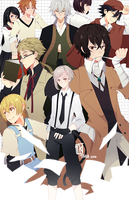 Bungou Stray Dogs by BottleWonderland