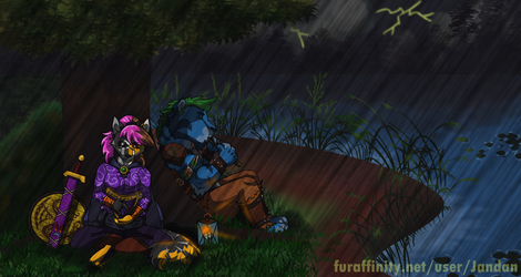 A Stillness in the Rain by Songficcer