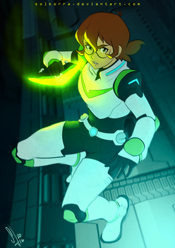 Pidge Ready for Fight! by SolKorra