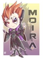 Moira - Overwatch by PaperMoon92