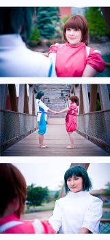 Spirited Away - Young love by LiquidCocaine-Photos