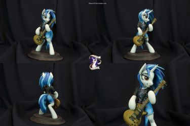 Vinyl Scratch 'Leather Teeth' by Shuxer59