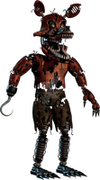 Nightmare Foxy by DarkVirus87