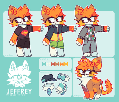 Jeffrey '18 Reference by Chewzers