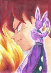 DBZ The Battle of God by oNecro-Jael-Miku01o