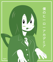 Tsuyu Asui-Froppy from My Hero Academia by Linkabel32