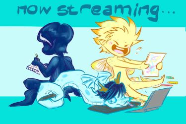 New Streaming Icon - NOT STREAMING RN by Elf-chuchu