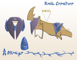 Rock Creature Tack by spiralstatic13
