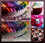 Sweet Colours PSD by MiicaLR