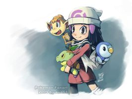Scarf Pokemon Girl