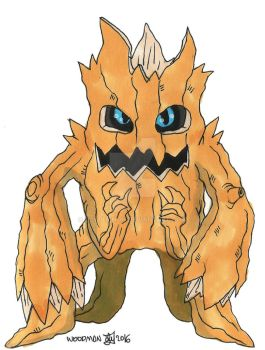 :Digimon: Woodmon